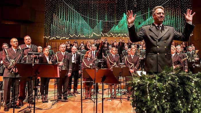 Božićni koncert Simfonijskog puhačkog orkestra HV-a u Lisinskom | Domoljubni portal CM | Kultura
