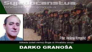 DARKO GRANOŠA | Crne Mambe | Svjedočanstva hrvatskih bojovnika