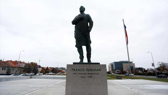 Ercegu 15 dana zatvora zbog uzvika na otkrivanju spomenika Tuđmanu