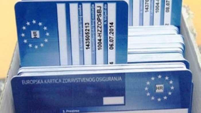 Europska kartica zdravstvenog osiguranja | Domoljubni portal CM | Press