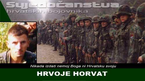HRVOJE HORVAT: Dva tjedna žestokog okršaja uz samo par sati odmora | Domoljubni portal CM | Svjedočanstva hrvatskih bojovnika