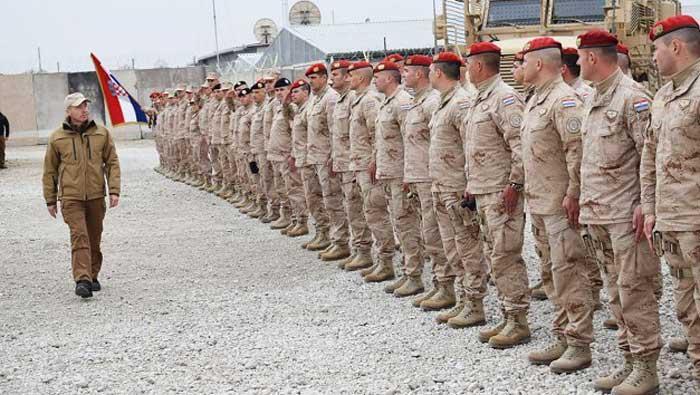 Posjet hrvatskim vojnicima u Mazar-e-Sharifu | Domoljubni portal CM | Press