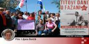 16. Titovi dani u Fažani i zablude jugonostalgičara | Domoljubni portal CM | Press