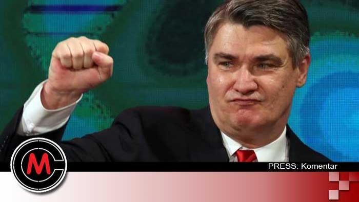 Milanović, skandalozni predsjednik bolesnog karaktera| Domoljubni portal CM | Press