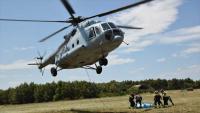 Helikopter HRZ-a pruža potporu vatrogascima na Braču