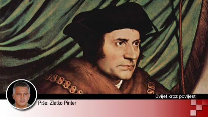 6. srpnja 1535. - pogubljen Thomas Moore | Domoljubni portal CM | Svijet kroz povijest