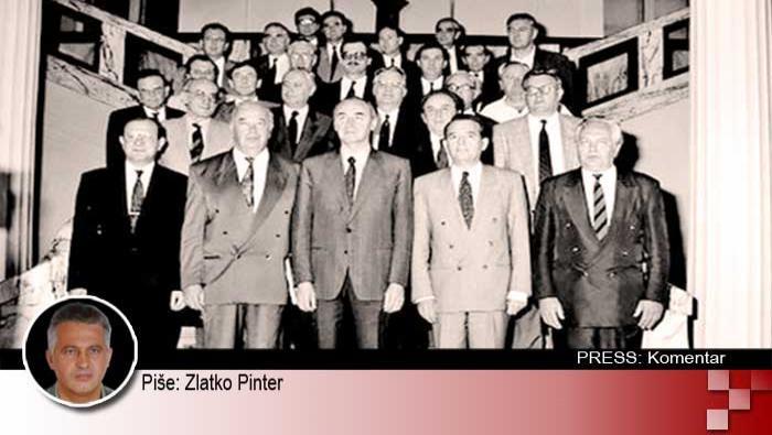 Vlada demokratskog jedinstva (17.7.1991. - 12.8.1992.): hrabra, pametna i vlada apsolutno odana RH | Domoljubni portal CM | Press