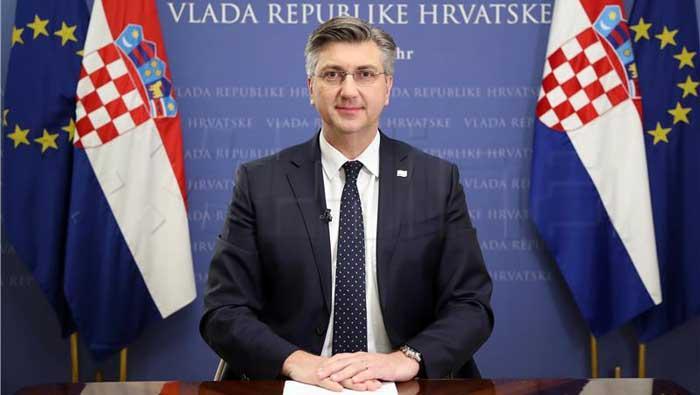 Plenković pozvao na jedinstvo u borbi protiv korona virusa i za spas gospodarstva | Domoljubni portal CM | Press