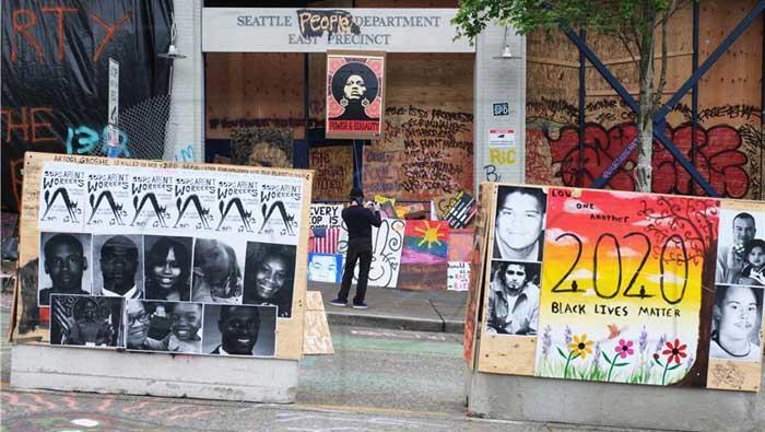 Prosvjednici se sukobljavaju s policijom u gradovima širom SAD-a