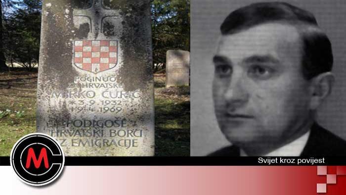 Nekažnjeni jugokomunistički zločini: Ubojstvo Mirka Ćurića (9.4.1969.) | Domoljubni portal CM | Svijet kroz povijest