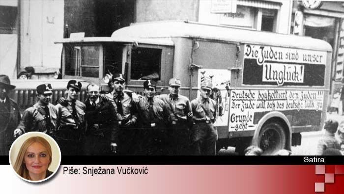 ODJ...TE, MAJKU VAM NACISTIČKU! | Domoljubni portal CM | Kultura | Satira