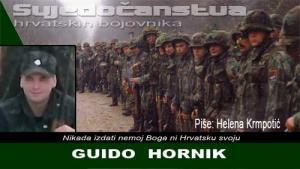GUIDO HORNIK | Crne Mambe | Svjedočanstva hrvatskih bojovnika