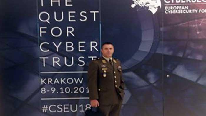 General Turalija na Europskom forumu kibernetičke sigurnosti u Poljskoj