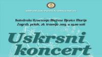 Uskrsni koncert Simfonijskog puhačkog orkestra HV-a