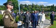 Položeni vijenci za 29. obljetnicu Oružanih snaga RH