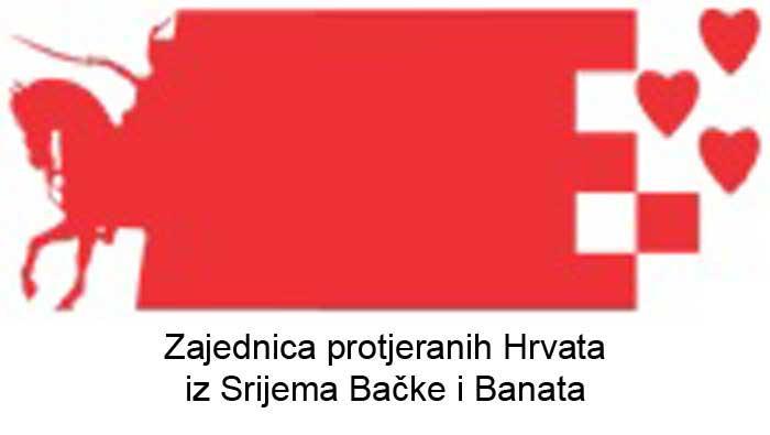 Priopćenje za javnost Zajednice protjeranih Hrvata iz Srijema, Bačke i Banata