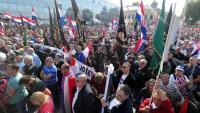 Održan prosvjedni skup u Vukovaru