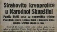 20. lipnja 1928. - Atentat na Radića | Hrvatska kroz povijest
