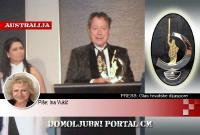Udruga 'Glas hrvatske dijaspore' dodijelila Charlesu Billichu nagradu za životno djelo za pomoć Hrvatskoj | Domoljubni portal CM | Hrvati u svijetu