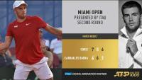 ATP Miami: Ćorić u tri seta svladao Carballesa Baenu | Domoljubni portal CM | Sport