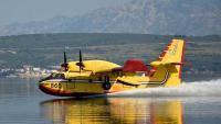 Zračne snage gase požare u Dalmaciji