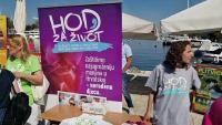 'Hod za život' u Zagrebu, Splitu i Zadru