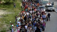 Više od tisuću migranata iz Hondurasa krenulo je prema SAD-u