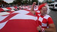 Kalinjingradom zavijorila najveća hrvatska zastava