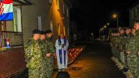 Pripadnici 3. HRVCON-a eFP-a obilježili obljetnicu stradanja Vukovara i Škabrnje | Domoljubni portal CM | Press