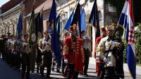 Započela svečanost promocija vojnih škola u Vukovaru