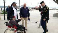 Američki veleposlanik posjetio barbu Josipa - jednog od najstarijih američkih vojnih veterana
