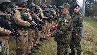 General Šundov obišao kadete na Zimskom kampu 1