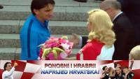 Hrvatska predsjednica posjetila 'Vatrene' u Moskvi