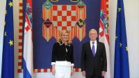 Predsjednica Grabar-Kitarović s ministrom obrane SAD-a