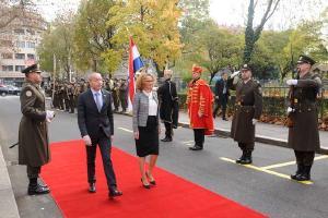 Posjet ministrice obrane Republike Makedonije RH i MORH-u