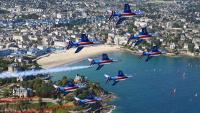 Prvi posjet akrobatske grupe 'Patrouille de France' Hrvatskoj | Domoljubni portal CM | Press