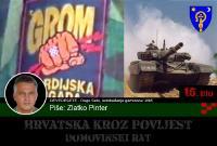 Oslobađanje garnizona 'JNA' na području Općine Dugo Selo i zauzimanje vojnog skladišta 'Prečec' (15/15) | Domoljubni portal CM | Hrvatska kroz povijest