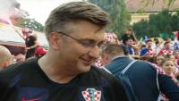 Plenković: Vatreni su za mene svjetski prvaci