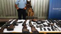 U Glinskim Poljanama policiji predan arsenal oružja