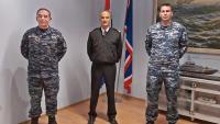 Rotacija časnika HRM-a u operaciji EU NAVFOR MED – IRINI | Domoljubni portal CM | Press