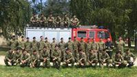 Sokolovi sudjelovali u protupožarnoj obuci s vatrogasnim postrojbama
