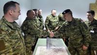 Obuka pričuvnog sastava Hrvatske vojske u Udbini