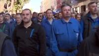 Radnici Uljanika na ulicama Pule