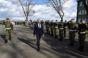 Ministar Krstičević posjetio Pukovniju vojne policije