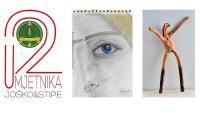 NAJAVA (22. siječnja): svečano otvorenje izložbe '2Umjetnika' | Crne Mambe | Art